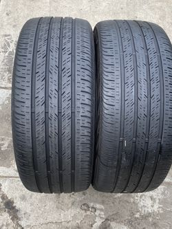 2 tires 235/40/19 continental for Sale in Bakersfield,  CA
