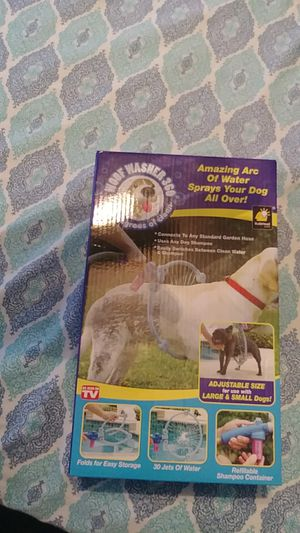 Dog Washing Wand for Sale in Williamsport, PA
