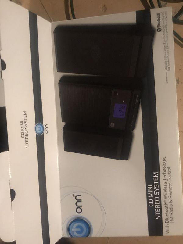 ONN CD/Bluetooth Speakers