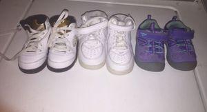 Kids Nike's ,Jordan's and Oshkosh shoes for Sale in Manassas, VA