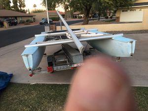 G-cat 5.0 like hobie cat 16 sailboat catamaran for Sale in Mesa, AZ