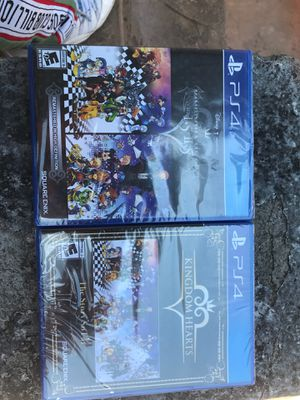 Kingdom of hearts ps4 games brand new!! for Sale in San Leandro, CA