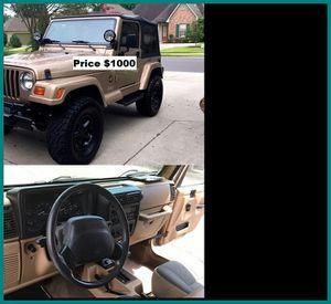 ֆ1OOO_1999 Jeep Wrengler for Sale in Rancho Cucamonga, CA