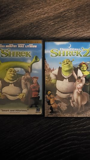 Shrek & Shrek 2 for Sale in Danbury, CT