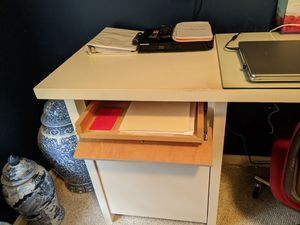Custom wooden desk and chair for Sale in Woodbury, NY