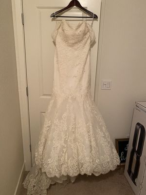 Enzoani Couture Wedding Dress! Size 8/10 for Sale in Dublin, CA