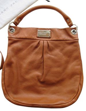 MARC By MARC JACOBS Tan Leather Classic Q Hiller Hobo Bag & Continental Wallet for Sale in Boston, MA