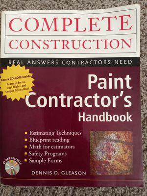 Painting Contractors Handbook for Sale in Fair Oaks, CA