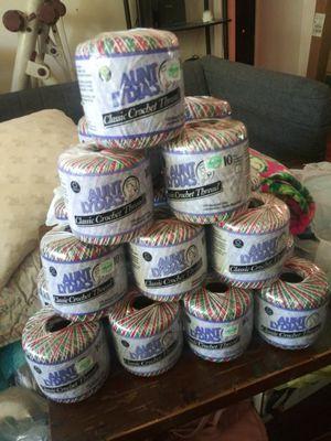 Aunt Lydia's Classic Crochet Thread for Sale in Montgomery, AL