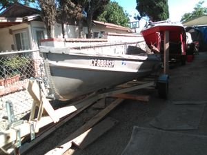 14' aluminum boat for Sale in Santa Clarita, CA