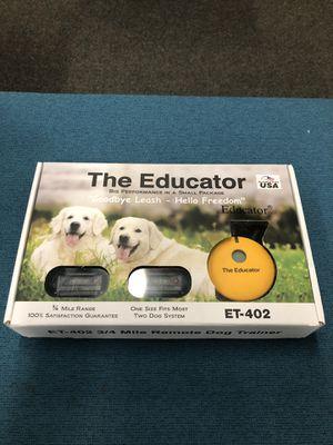 E-Collar ET-402 3/4 Mile Remote 2 Dog Trainer for Sale in Wood Village, OR