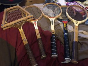 Lot of 5- tennis Rackets .. for Sale in Corona, CA