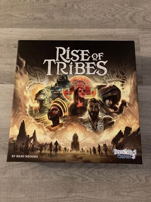 Rise of tribes is a bord game that is vary fun and easy to past time in the house or just to play for Sale in Sacramento, CA