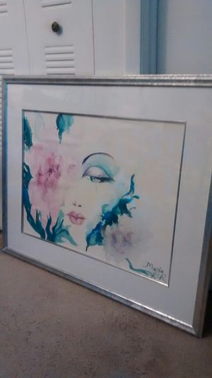 Watercolor picture from Puerto Rico for Sale in Miami Gardens, FL