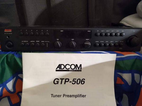 Tuner preamplifier, Home theater, stereo, receiver