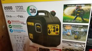 Champion Inverter Generator with Parallel Kit for Sale in Fort Washington, MD