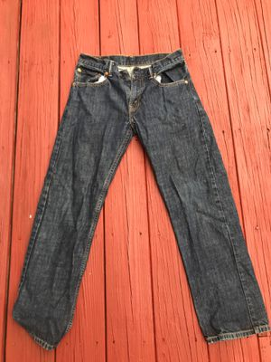 Levi's Straight Fit Jeans for Sale in Lincoln, RI