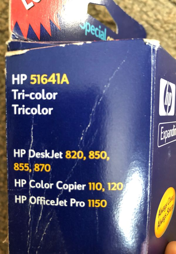 HP 41 / 51641A Replacement Tri Color Ink Cartridge