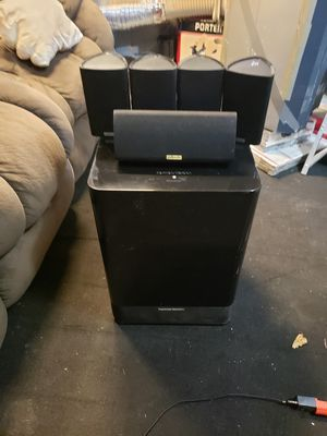 Polk audio RM7 surround sound home theater speakers for Sale in Sugar Land, TX