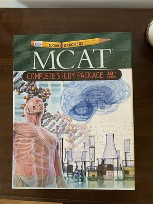 Examkrackers 10th Edition MCAT Study Package Study Guide Edition for Sale in Arlington, VA