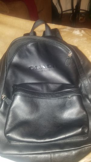 Coach backpack black for Sale in Portland, OR