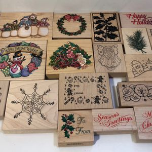 Attention crafters! 90 Rubber stamps plus more for Sale in Lake Oswego, OR