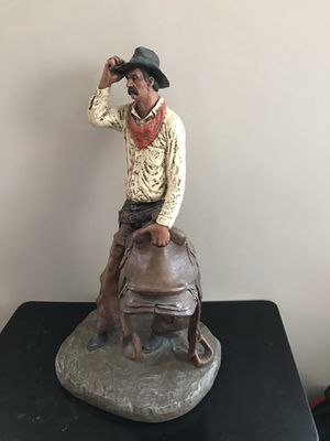 "Sculpture by Michael Garman (""Saddle Tramp"") for Sale in Montrose, CO"