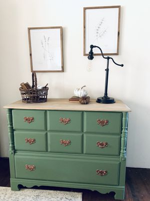 Rustic Vintage Farmhouse Buffet Dresser NEWLY REFINISHED for Sale in Sacramento, CA