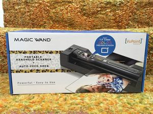 Magic Wand Portable Handheld Scanner for Sale in Silver City, SD