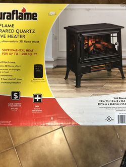 Duraflam Stove Heater Brand New for Sale in Brooklyn,  NY