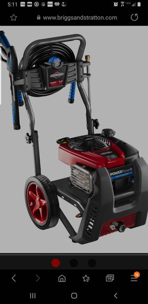 Briggs and stratton power flow pressure washer/PLEASE NO LOW BALLERS for Sale in NJ, US