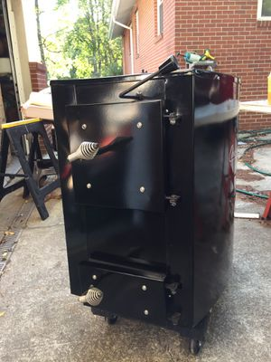 Cunningham wood stove, less than 3 months use. New price is $2,295.00 great condition. for Sale in Sunbury, OH