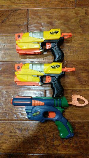Nerf Gun Pistols Lot for Sale in Fremont, CA