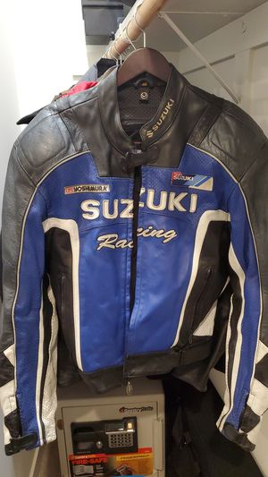 Suzuki motorcycle jacket for Sale in Scottsdale, AZ