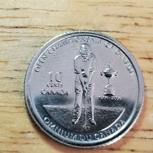 (Silver) The open championship of canada 10 cents 2004 for Sale in Texas City, TX