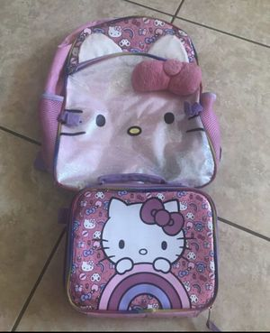 Hello Kitty backpack & lunch bag 🎒 for Sale in Phoenix, AZ