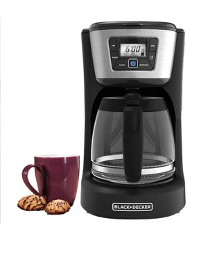 Black and Decker 12 cup programmable coffee maker for Sale in Fremont, CA
