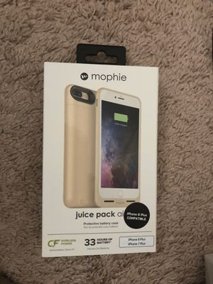 phone 7 plus or 8 plus mophie battery case BRAND NEW for Sale in Seattle, WA