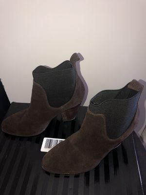 Victoria Secret Brown & Black Low Boots for Sale in Leesburg, FL