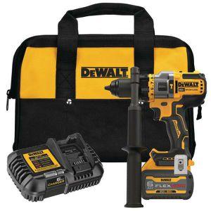 Dewalt 20-Volt MAX Cordless Brushless 1/2 in. Hammer Drill/Driver with FLEXVOLT ADVANTAGE Kit with (1) FLEXVOLT 6.0Ah Battery for Sale in Stickney, IL