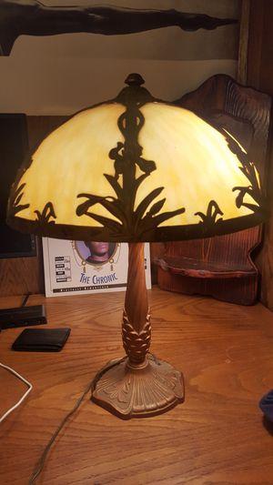 Slag Glass Lamp for Sale in Portland, OR