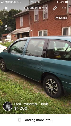 Ford windstar for Sale in Milton, PA
