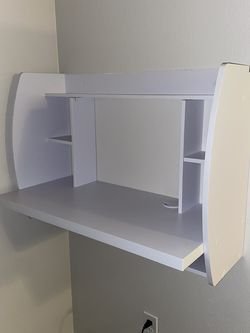 White Floating Wall Desk for Sale in Lynnwood,  WA