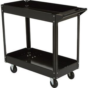 30 In. X 16 In. Two Shelf Steel Service Cart 7 total available for Sale in Lynnwood, WA