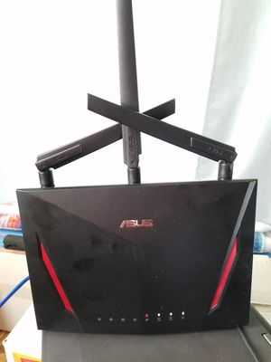 asus rt-ac86u router for Sale in Rialto, CA
