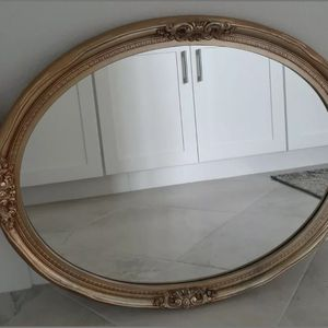 Antique Gold Oval Mirror for Sale in Temecula, CA
