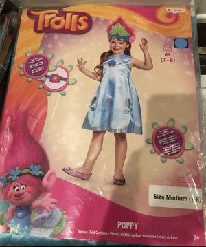 Trolls Poppy Halloween Child Girl's Kids Costume Medium 7-8 for Sale in Torrance, CA
