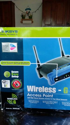 LINKSYS WIRELESS-G for Sale in Columbus, OH