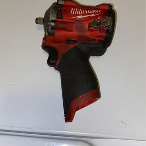 """Milwaukee M12 Fuel 3/8"""" Stubby Impact Wrench for Sale in Tacoma, WA"""