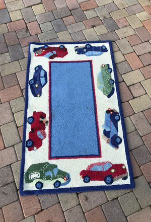 Pottery barn car rug for Sale in Beverly Hills, CA